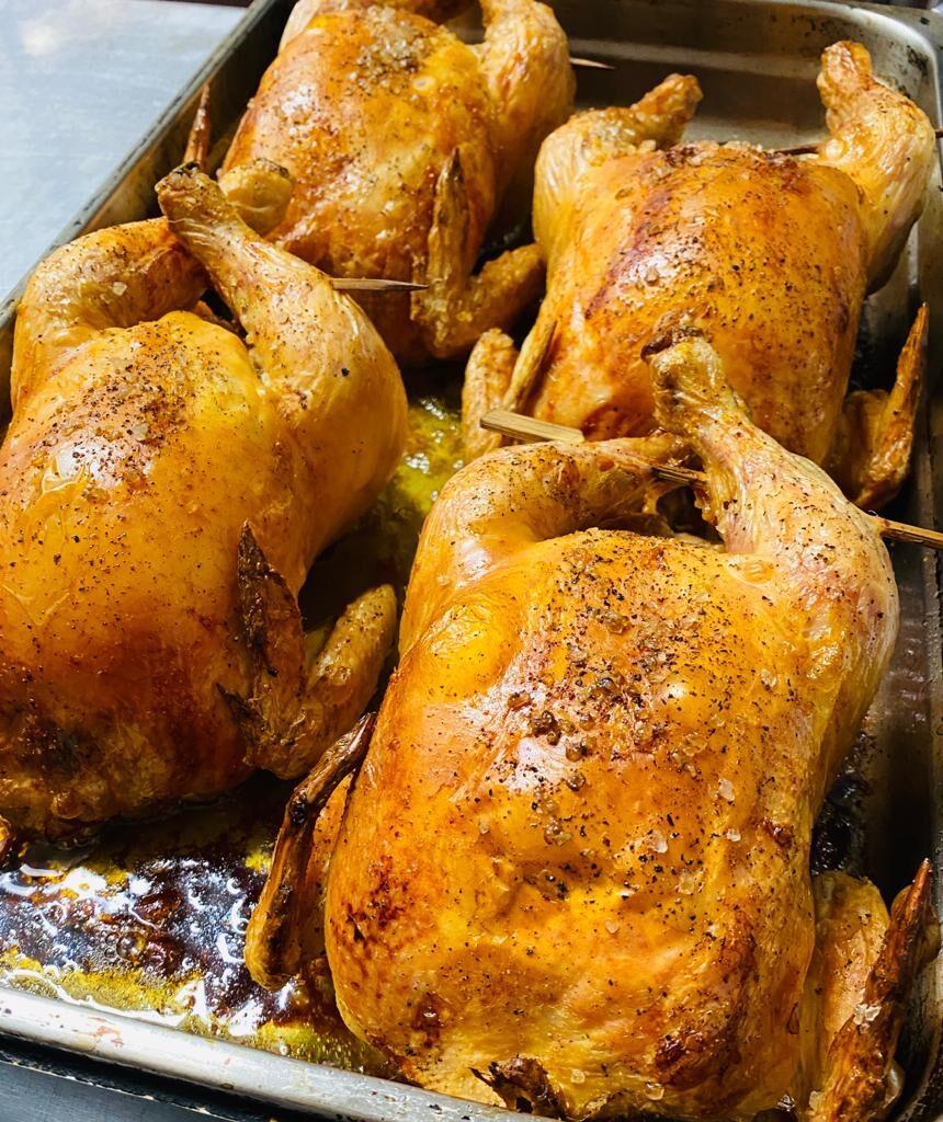 4 x roast chicken